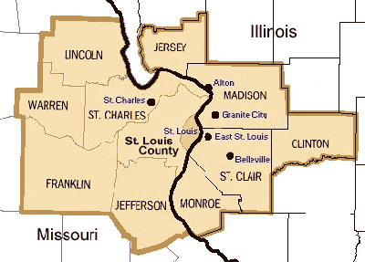 The St. Louis Metropolitan Statistical Area